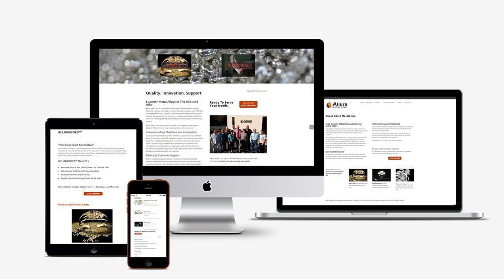 allura-metals-responsive-web-design-flux-appeal