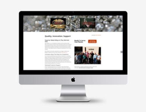 Web Design Allura Metals