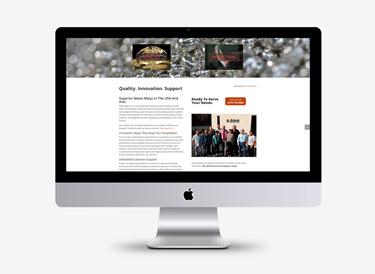 allura-metals-web-design-flux-appeal