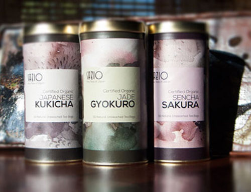 Packaging Design Sazio Teas of Japan