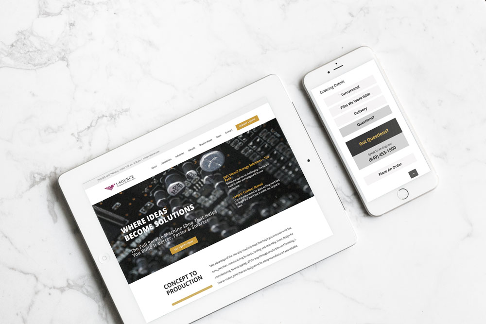 web-design-UI-responsive-manufacturing
