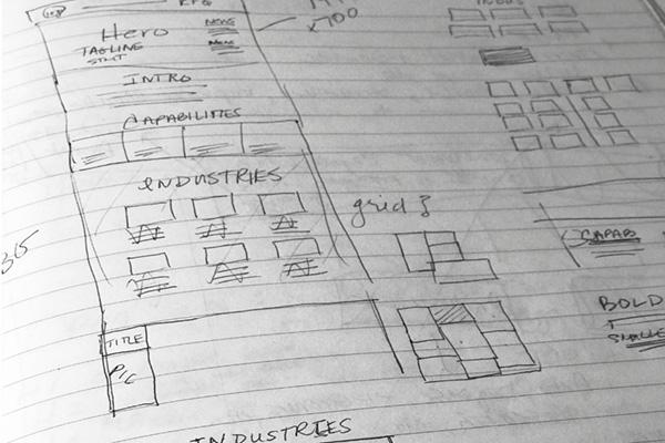web design wireframe flux appeal creative